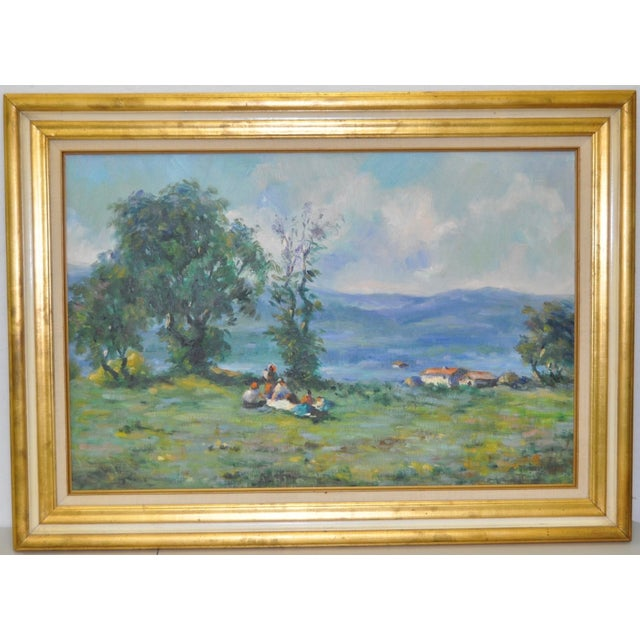 Signed Impressionist Oil Painting - Image 2 of 8