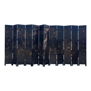 12-Panel Chinese Style Divider