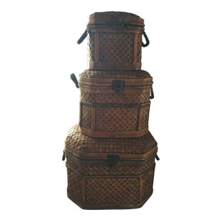 Bamboo Co. Baskets - Set of 3