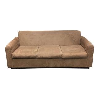 Camel Color Mico Fiber Sofa