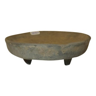 Ancient Chinese Terra Cotta Dish