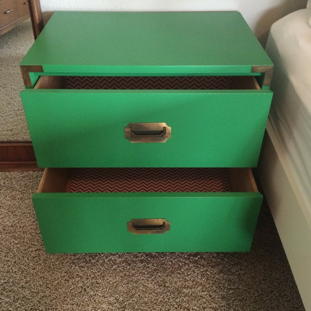 Dixie Campaign Nightstands - Pair of Two - Image 2 of 8