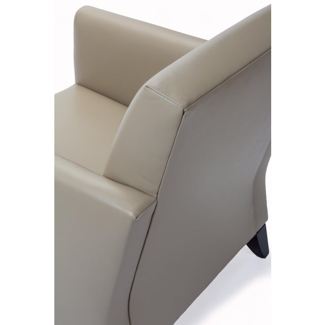 Image of Princeton Leather Reading Chair