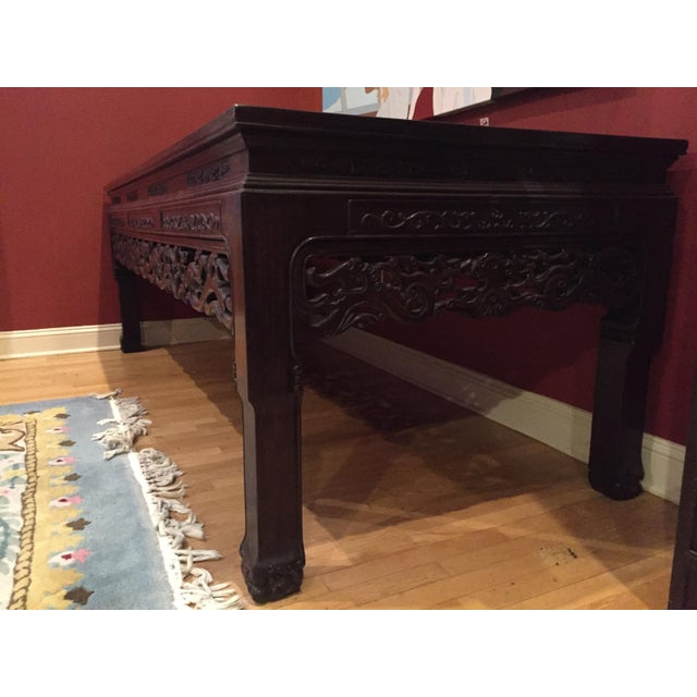 Chinese Rosewood Table - Image 5 of 8