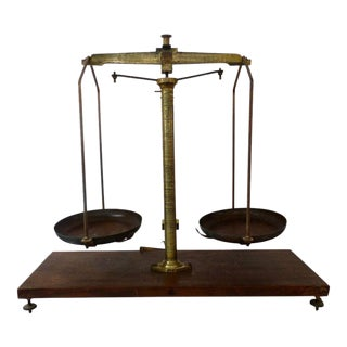 Antique Iron, Steel & Brass Scale