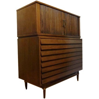 American of Martinsville Dania Highboy Chest