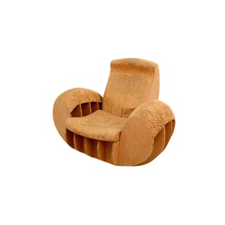 Cardboard Rocker Easy Edges Attributed to Frank O Gehry