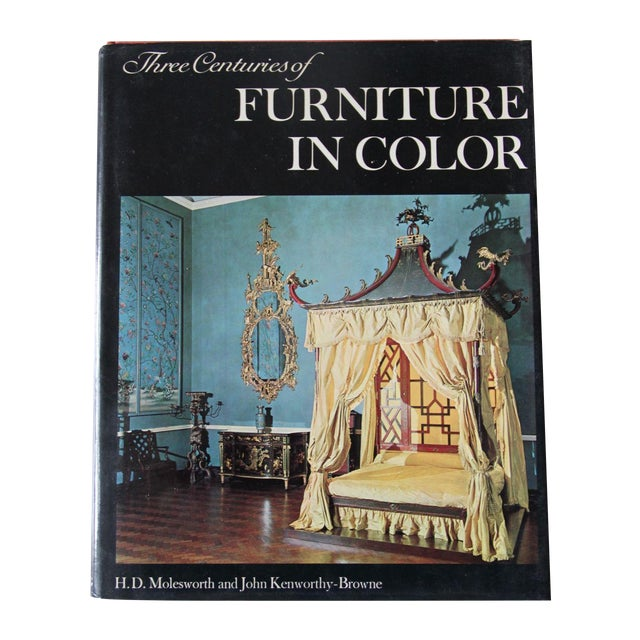 """""""Three Centuries of Furniture in Color"""" Book - Image 1 of 7"""