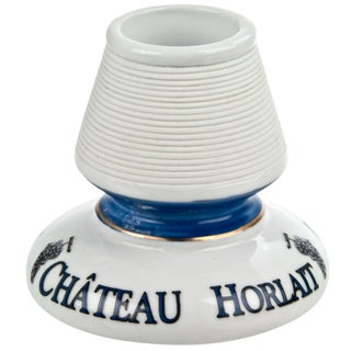 Vintage French Horlait Porcelain Match Striker