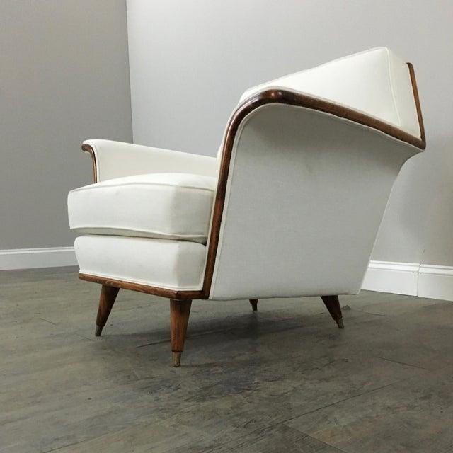 Vintage Art Deco Club Chair - Image 5 of 9