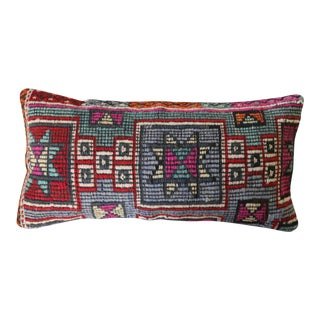 Kiya Turkish Kilim Lumbar Pillow