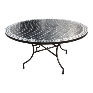 Outdoor Moroccan Mosaic Dining Table
