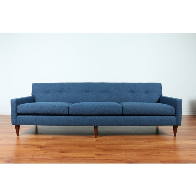 1960's Refinshed And Reupholstered Sofa - Image 2 of 9
