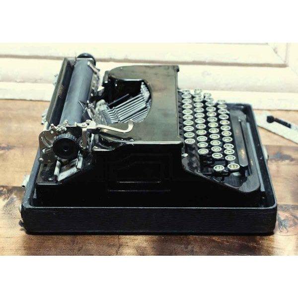 Antique Smith Corona Typewriter With Case - Image 6 of 6