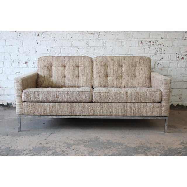 Florence Knoll Loveseat Sofa for Knoll International, 1977 - Image 11 of 11
