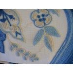 Image of Woodmark Vintage Embroidered Wing Back Chairs - 2