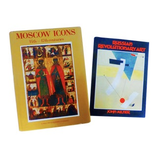 Russian Icons & Art Vintage Books - Pair