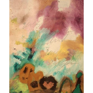 Original Modernist Abstract Mixed Media Painting