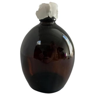 Boho Chic Brown Glass Vase