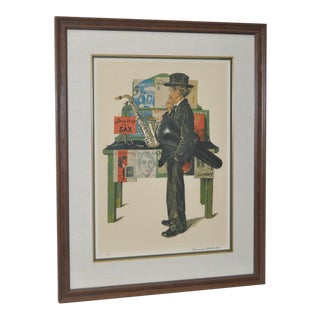 """Norman Rockwell """"Jazz It Up"""" Lithograph"""