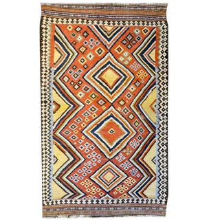 Incredible Mid-20th Century Ghashgaei Kilim
