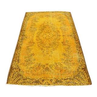Yellow Turkish Rug -