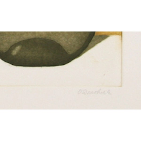 """Tighe O'Donoghue, """"Tides - Suite 2,"""" Etching - Image 2 of 2"""