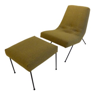 Lounge Chair with Ottoman by Adrian Pearsall