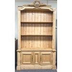 Image of Antique French Pine Bookcase