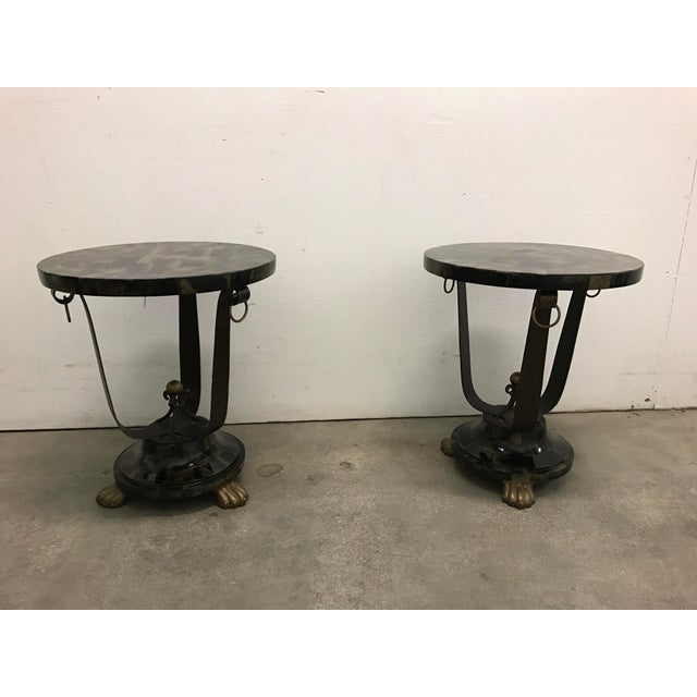 Image of Mainland Smith Tables - A Pair