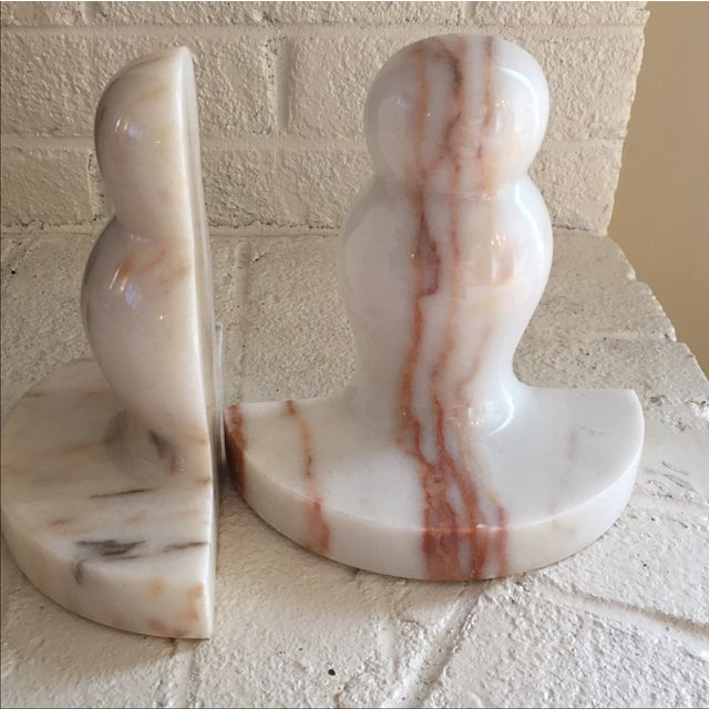 Marble Pawn Bookends - A Pair - Image 5 of 6