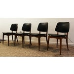 Image of Mid Century Modern Volther-Style Dining Chairs - 4