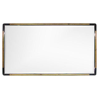 Art Deco Beveled Glass Mirror