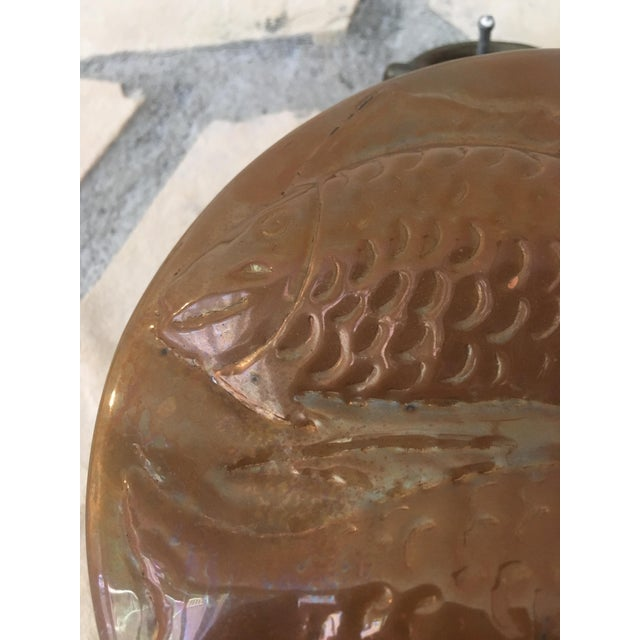 Image of Vintage Copper Pisces Mold