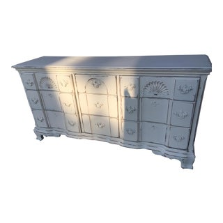 White Distressed Shabby Chic Dresser