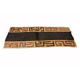 African Kuba Kasai Velvet Raffia Textile