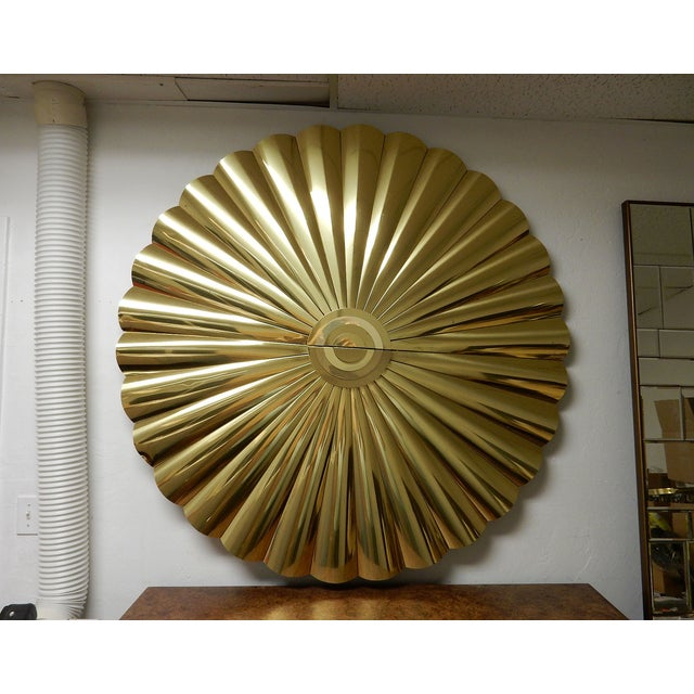 Large Curtis Jere Starburst Wall Sculpture - Image 7 of 7