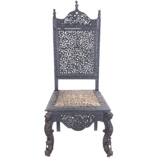 Ceremonial Carved Chair