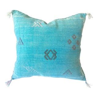 Complete Moroccan Berber Cactus Silk Pillow