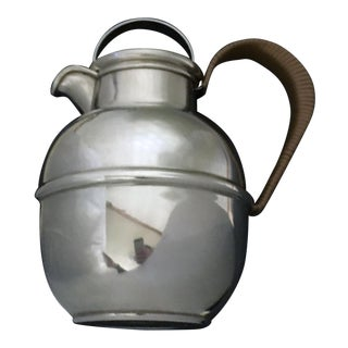 Tiffany & Co. Sterling Silver Pitcher With Wrapped Handle