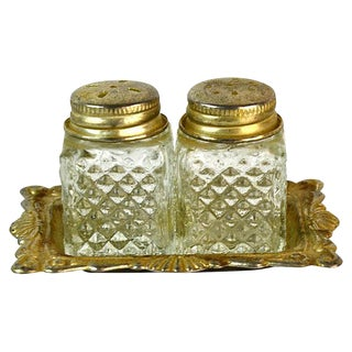 Hollywood Regency Salt & Pepper Shakers - A Pair