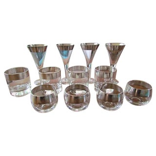 Dorothy Thorpe Vintage Glasses - Set of 12
