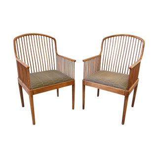 Exeter Chair by Davis Allen for Knoll - Pair