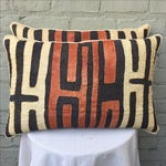 Image of African Kuba Cloth Pillows - Pair