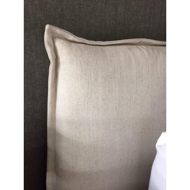 Modern Designer Upholstered Queen Bedframe - Image 4 of 5