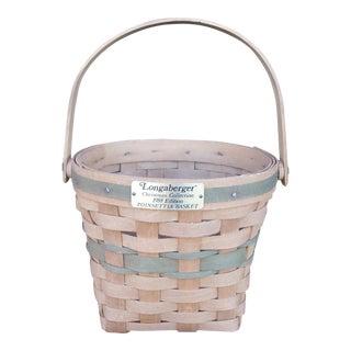 1988 Longaberger Christmas Basket
