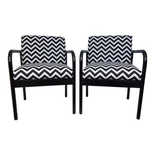 Danish Modern Chairs -Pair