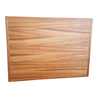 Handmade Canarywood Cutting Board