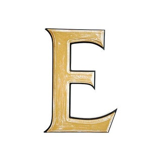 "Large 18"" Wooden Store Marquee Letter E"