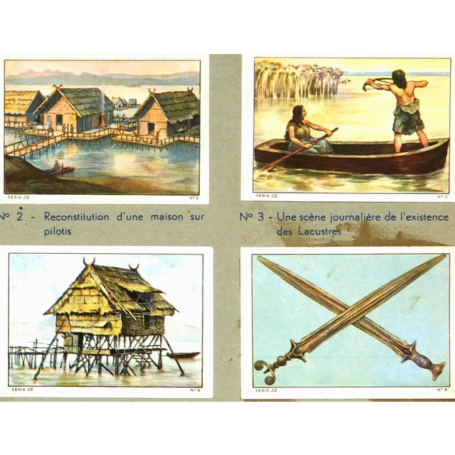 Image of Vintage Lake Culture Lithograph, 1930